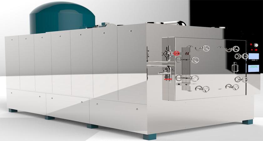 ZWZ-100蒸汽真空膨化机