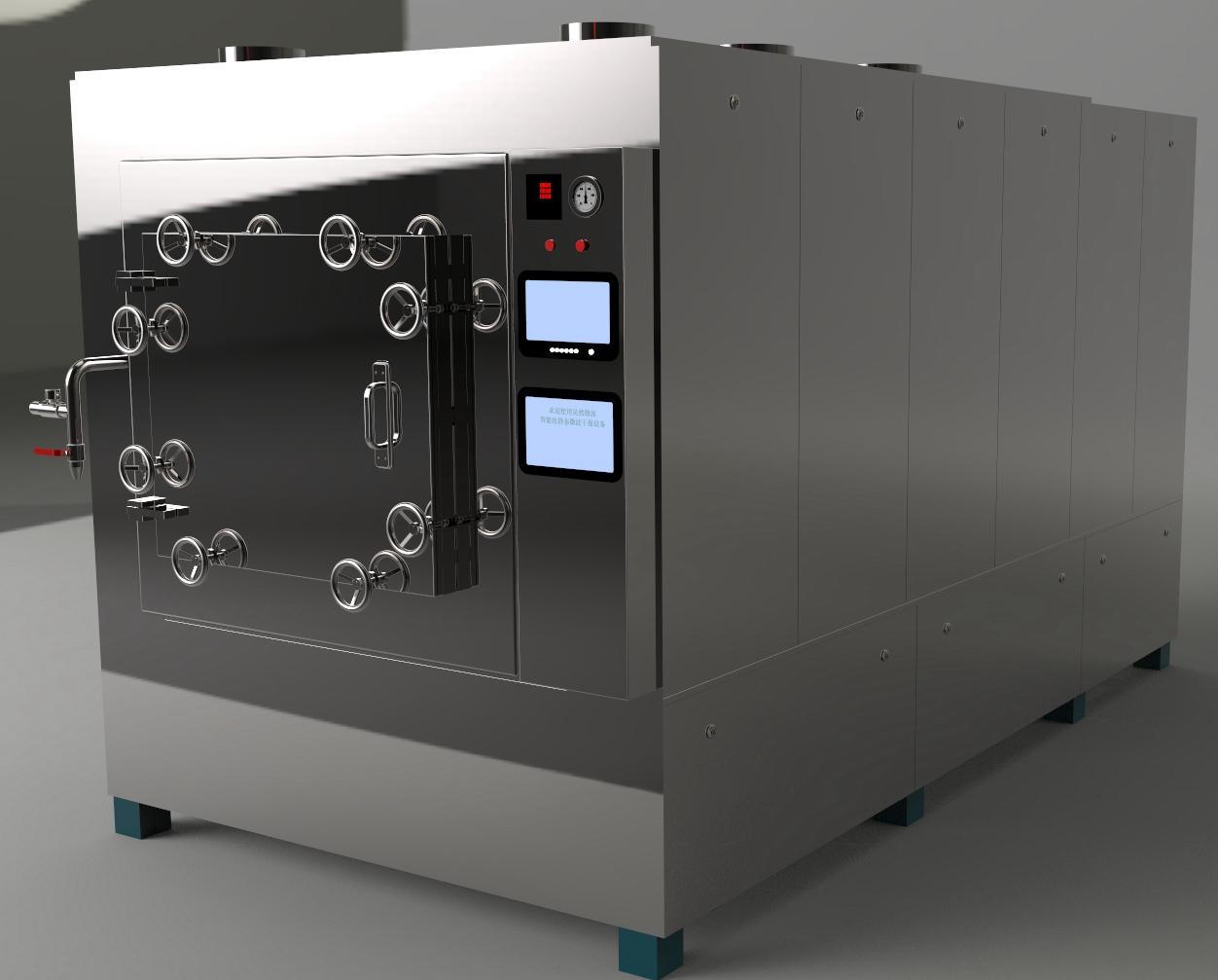 JWZ-100静态微波真空干燥箱